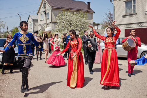 boda armenia celebracion