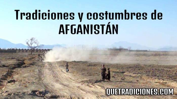 tradiciones y costumbres de afganistan