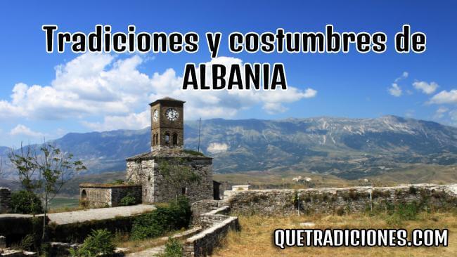 tradiciones y costumbres de albania