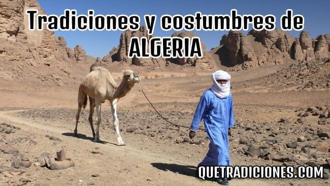 tradiciones y costumbres de argelia