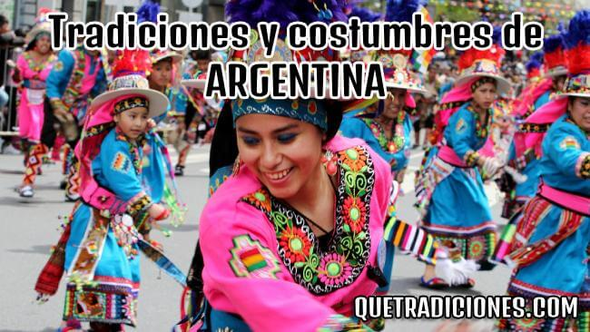 tradiciones y costumbres de argentina