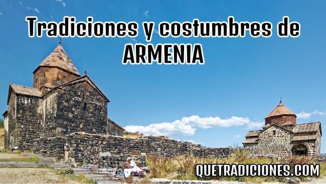 tradiciones y costumbres de armenia