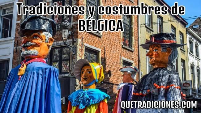 tradiciones y costumbres de belgica