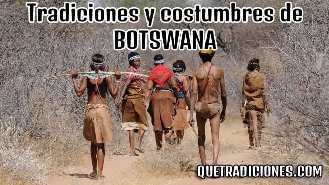 tradiciones y costumbres de botswana