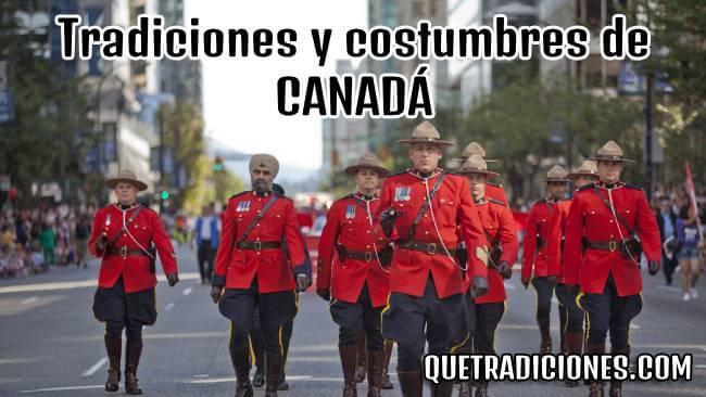 tradiciones y costumbres de canada