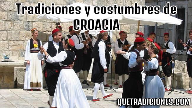 tradiciones y costumbres de croacia