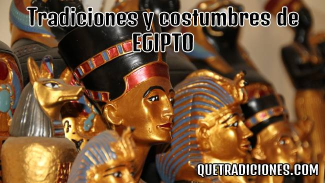 tradiciones y costumbres de egipto