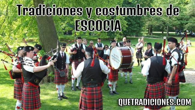 tradiciones y costumbres de escocia