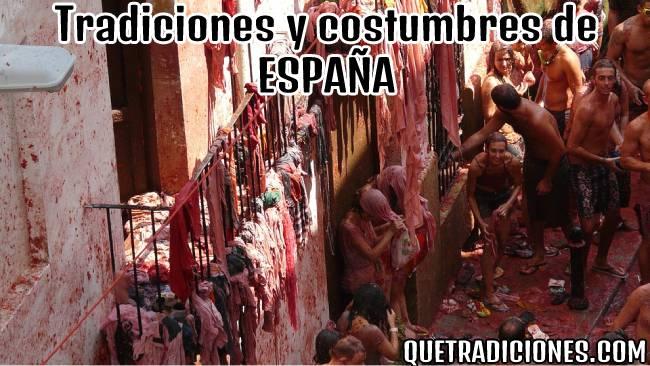 tradiciones y costumbres de españa
