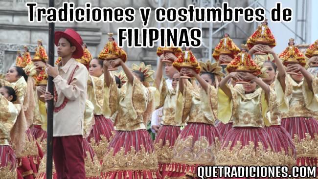 tradiciones y costumbres de filipinas