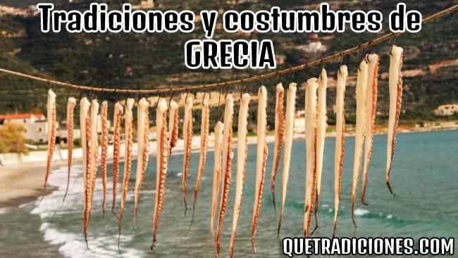 tradiciones y costumbres de grecia