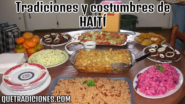 tradiciones y costumbres de haiti