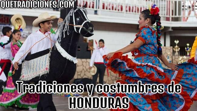 tradiciones y costumbres de honduras