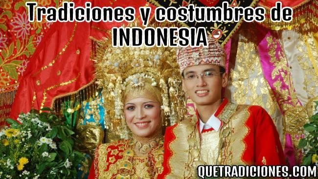 tradiciones y costumbres de indonesia