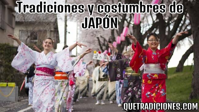 tradiciones y costumbres de japon