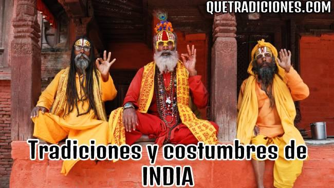 tradiciones y costumbres de la india