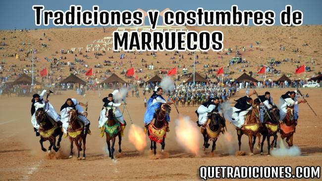 tradiciones y costumbres de marruecos