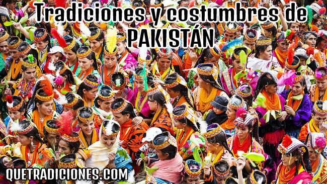 tradiciones y costumbres de pakistan