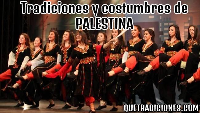 tradiciones y costumbres de palestina