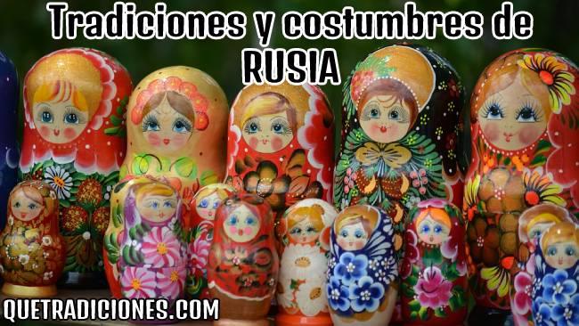 tradiciones y costumbres de rusia