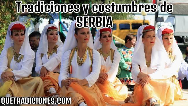 tradiciones y costumbres de serbia