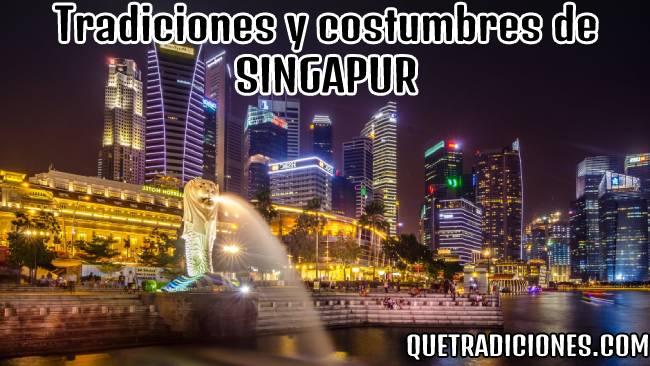 tradiciones y costumbres de singapur