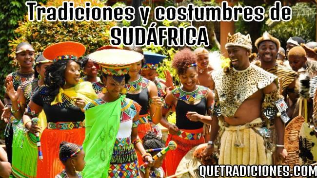 tradiciones y costumbres de sudafrica