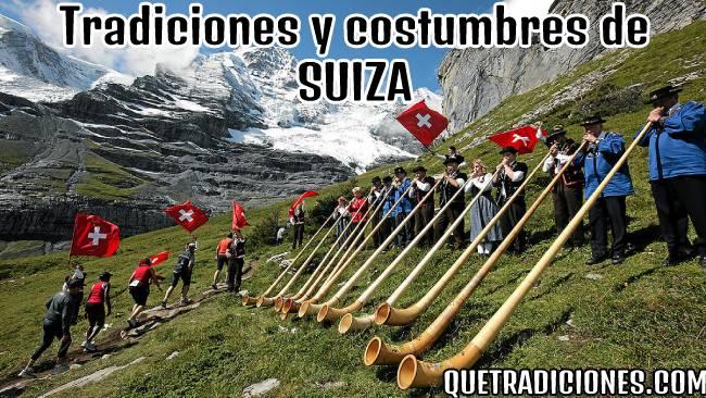 tradiciones y costumbres de suiza