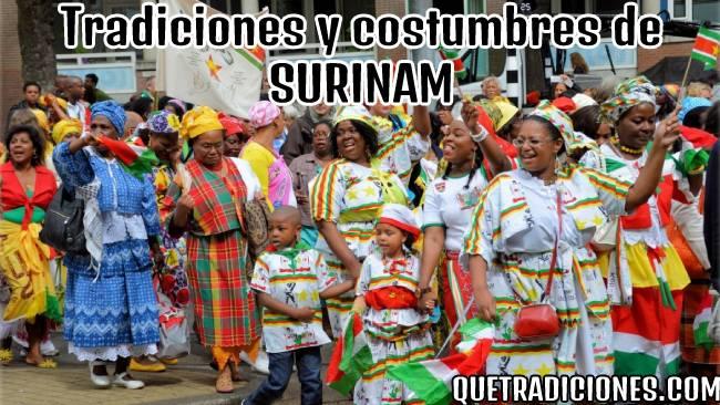 tradiciones y costumbres de surinam