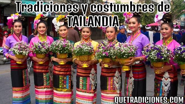 tradiciones y costumbres de tailandia