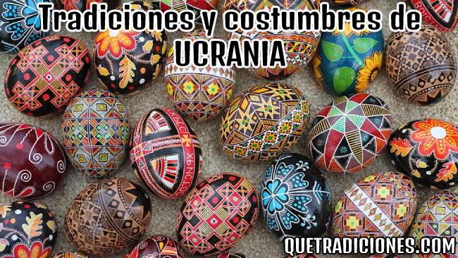 tradiciones y costumbres de ucrania