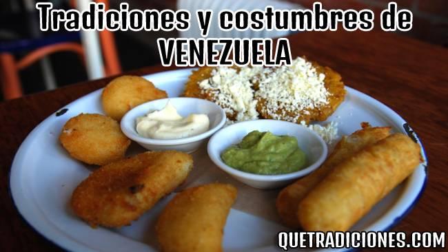 tradiciones y costumbres de venezuela