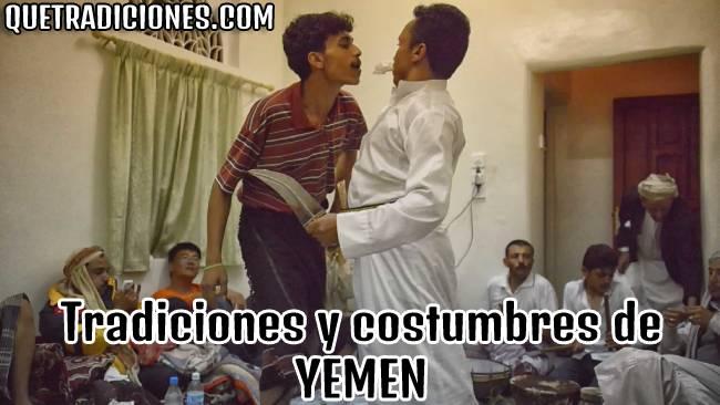 tradiciones y costumbres de yemen